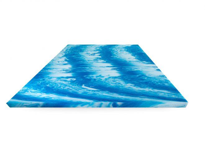 Wasserbett Topper 200x200 cm