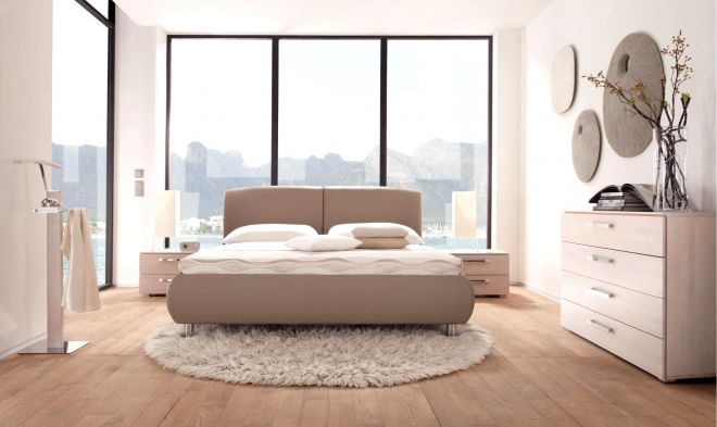 Wasserbett oder Gelbett komplett Dream Line Deluxe mit Iselo Kopfteil inkl. Grado Füße