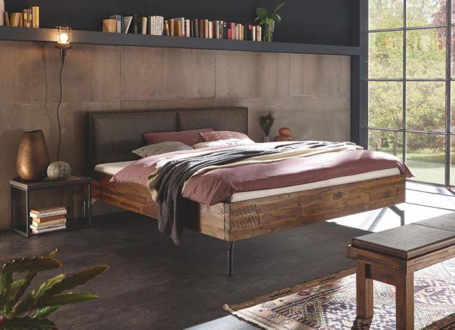 Design Akazien-Holzbett Gerase