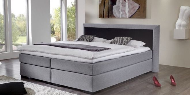 Boxspringbett Riva TFK 1000 Gel-Topper