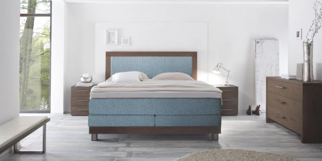 Boxspring Gelbettt Scallo