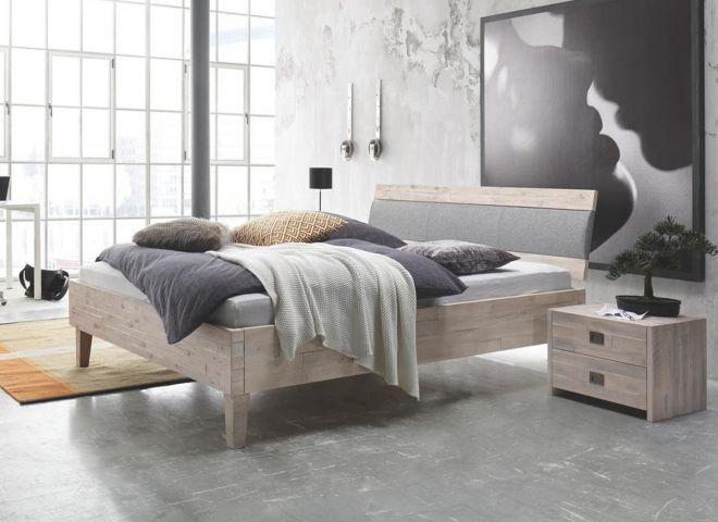 Design Akazien-Holzbett Canolo