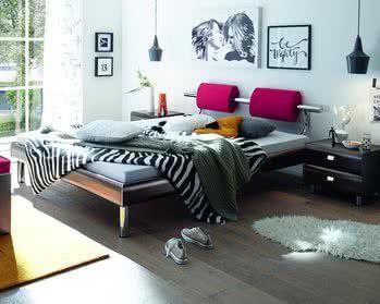 Hasena Soft-Line Bett Noble Oria Soko