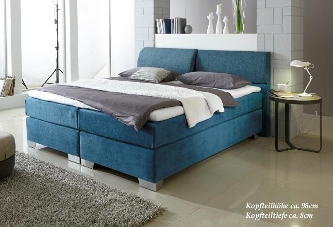 gelbett boxspringbett verona. Black Bedroom Furniture Sets. Home Design Ideas