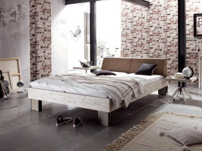 Hasena Factory Loft 18 Quada Rena-step Gelbett