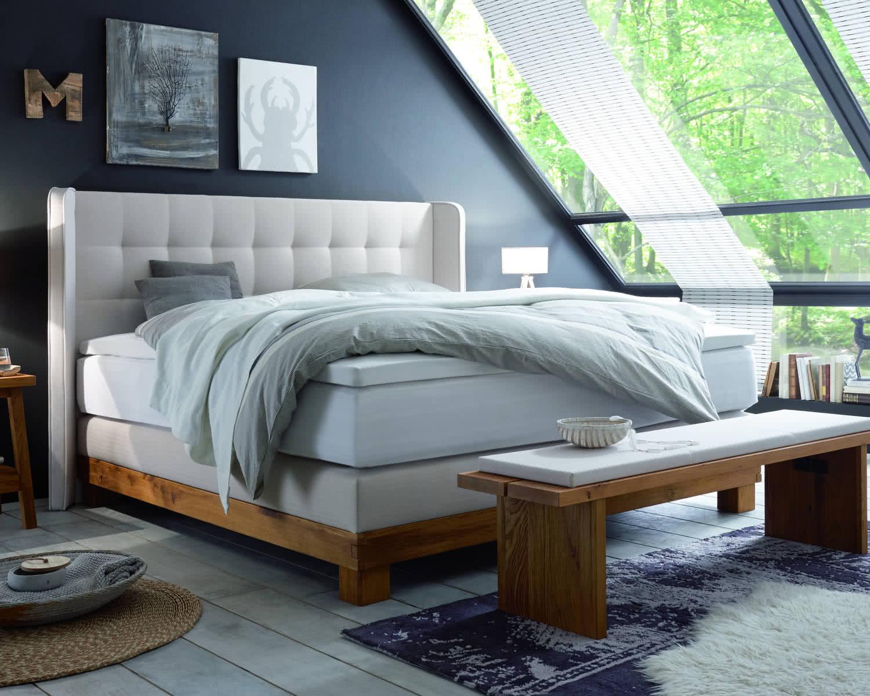 boxspring wasserbett massiva ivio monza. Black Bedroom Furniture Sets. Home Design Ideas
