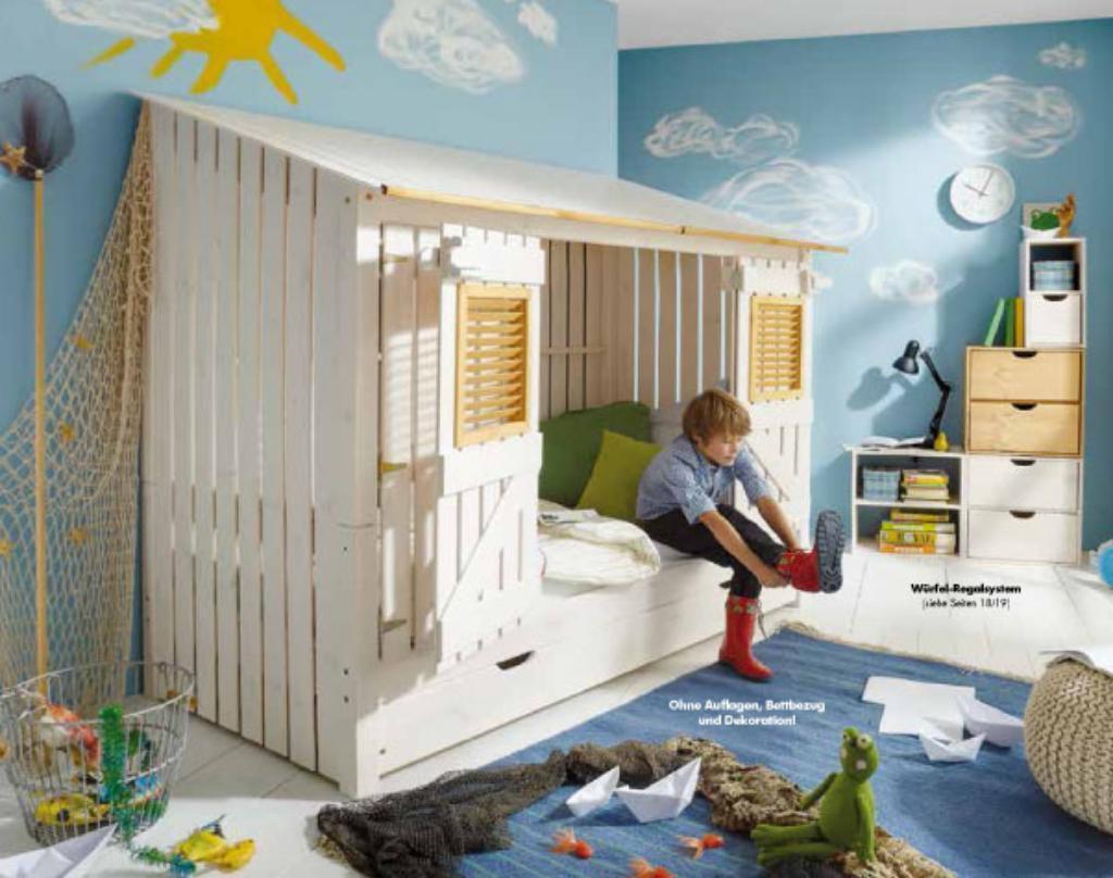kinderbetten von schlafvergnuegen. Black Bedroom Furniture Sets. Home Design Ideas