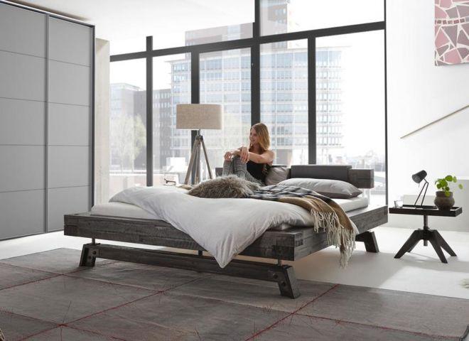 Design Akazien-Holzbett Tropea