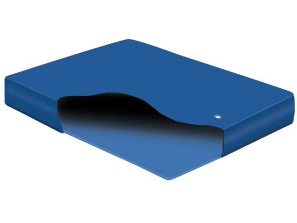 Hardside Wasserbett umbauen zum Gelbett Dual