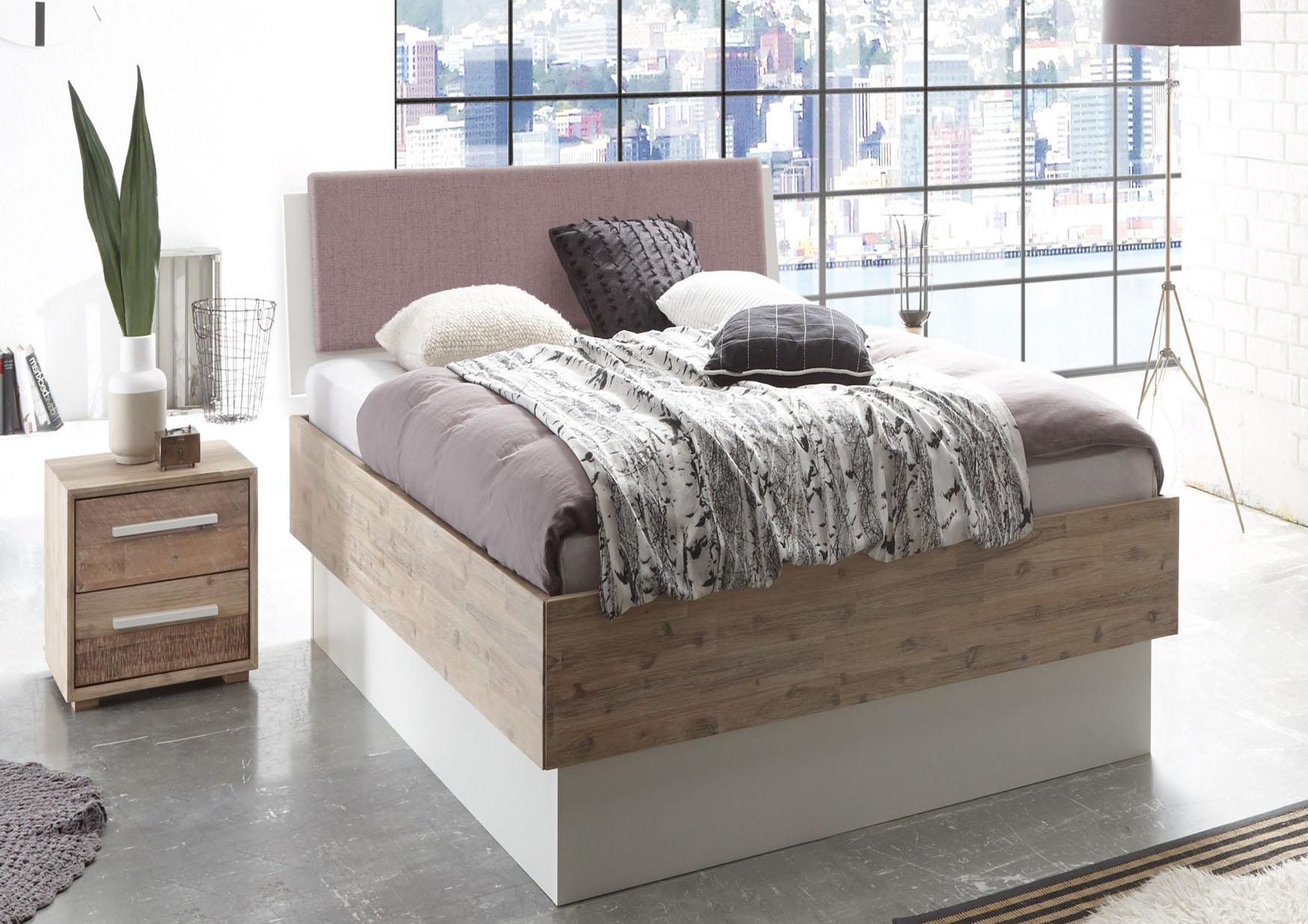 kinderbett 90x200 mit rausfallschutz. Black Bedroom Furniture Sets. Home Design Ideas