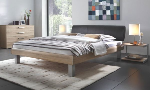 Hasena Soft-Line Bett Noble Mico Elipsa