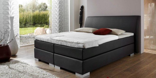 Boxspringbett Latina TFK 1000 Gel-Topper